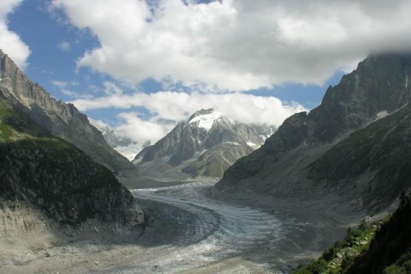 Glaciar Mer de Glace (Chamonix, Francia)