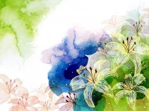 Postal: Aroma primaveral