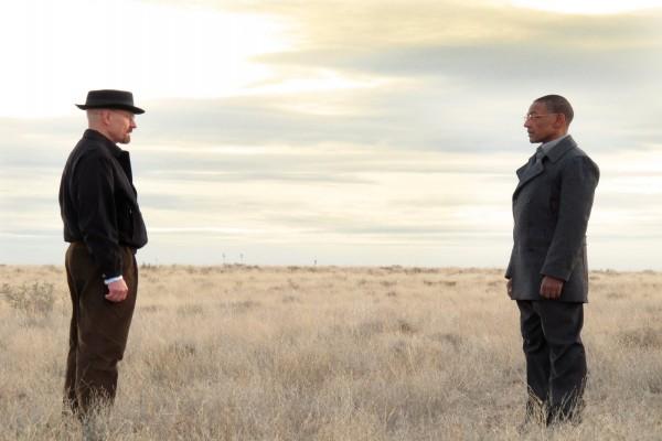 Walter y Gus frente a frente