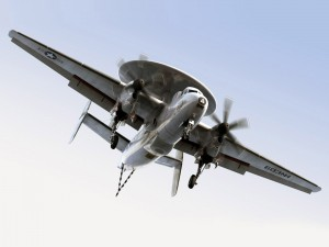 Postal: Avión E-2C Hawkeye