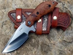 Un filoso cuchillo y su vaina