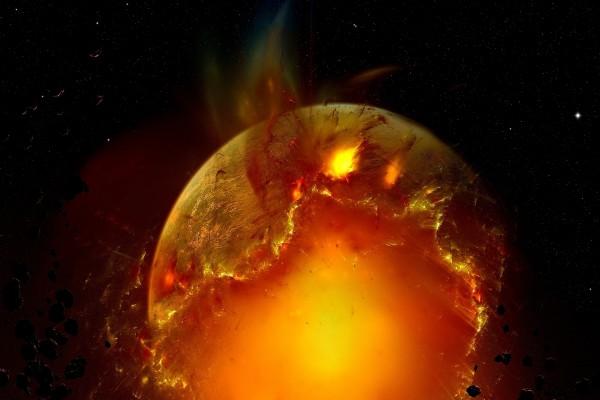 Destrucción de un planeta