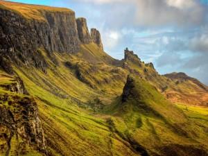 Postal: Naturaleza en la montaña