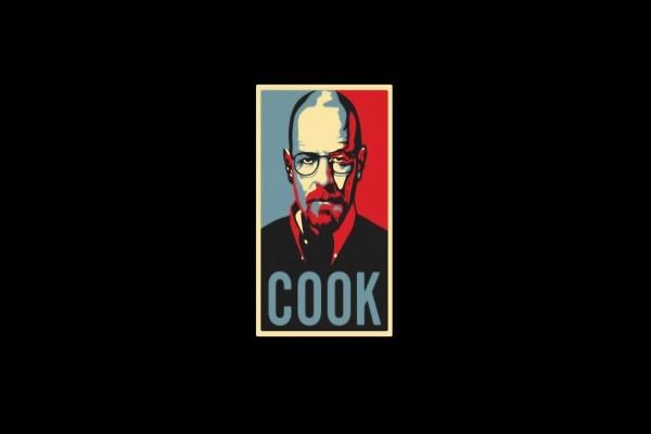 "Cocinero ""Breaking Bad"""