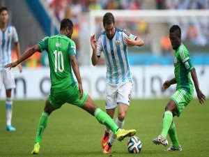 Postal: Argentina vs Nigeria (Mundial 2014)