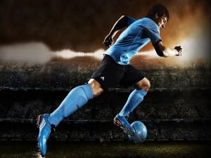 Messi en un spot de Adidas