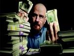 Walter con una gran cantidad de billetes