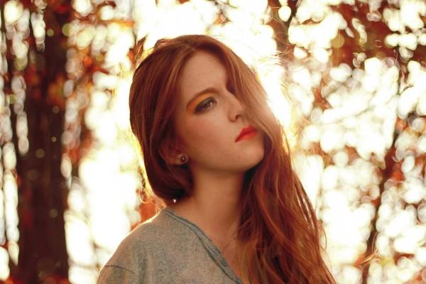 Retrato de una bella mujer