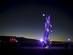 "Postal: Festival ""Burning Man"" en Black Rock, Nevada"