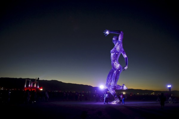 "Festival ""Burning Man"" en Black Rock, Nevada"