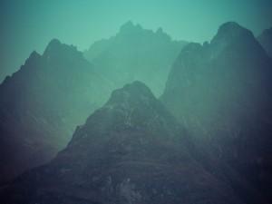 Postal: Montañas rocosas