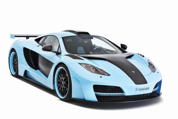 Hamann McLaren de color azul