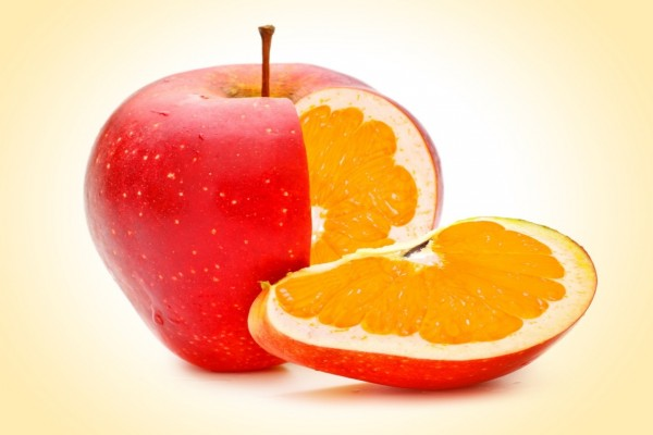¡Se mezclaron las frutas!