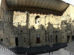 Postal: Teatro romano de Orange