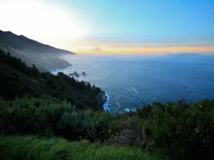 Postal: Bruma sobre el mar