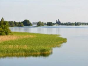 Postal: Lago Onega, Rusia