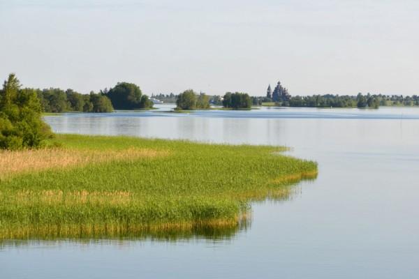 Lago Onega, Rusia