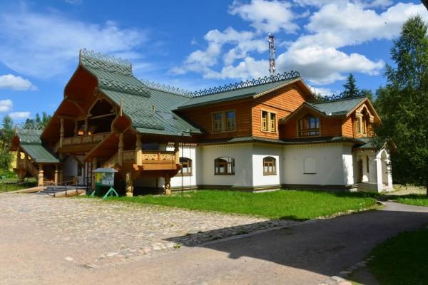 Elegante casa en Rusia