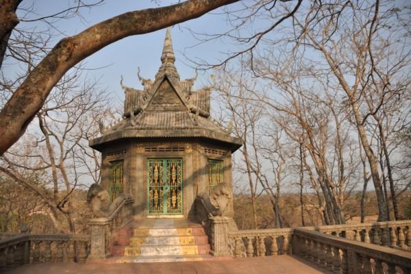 Colina de los hombres, Kampong Cham (Camboya)