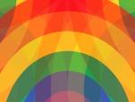 Líneas curvas de varios colores