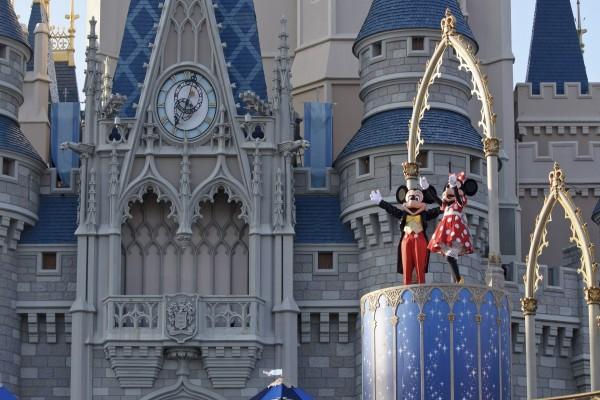 Mickey y Minnie Mouse en Disney World (Orlando, Florida)