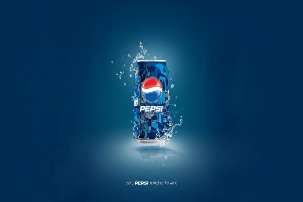 Una refrescante lata de Pepsi