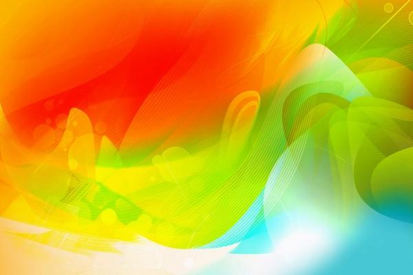 Un fondo artístico con varios colores