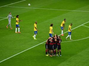 """Fin del partido de semifinales Alemania (7) Brasil (1) """"Mundial 2014"""""""