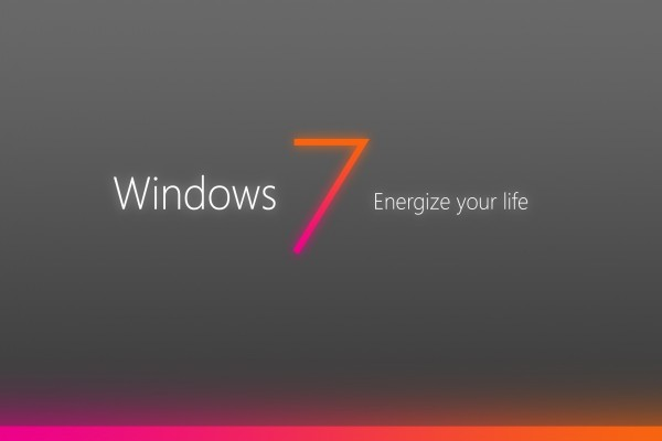 Windows 7 Energize your life