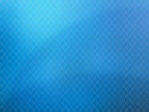 Postal: Cuadrados en un fondo azul
