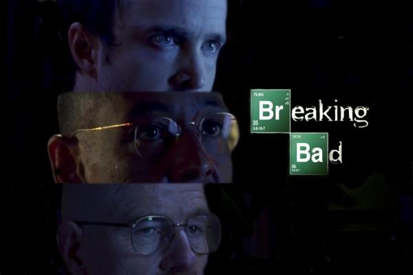 """Jesse, Gus y Walter """"Breaking Bad"""""""