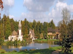 La aldea de la Reina, Palacio de Versalles (Francia)