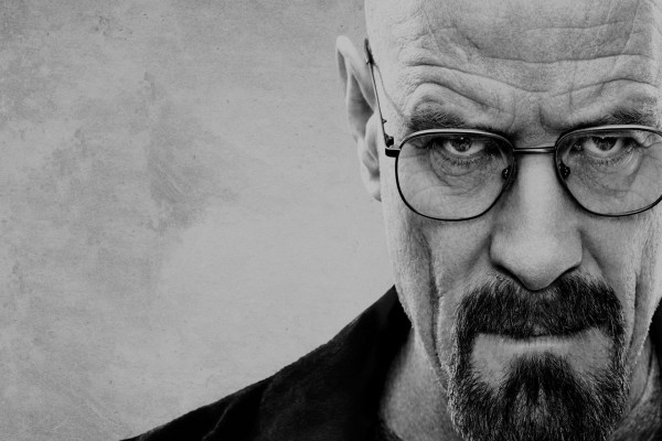 "La mirada de Walter White ""Breaking Bad"""