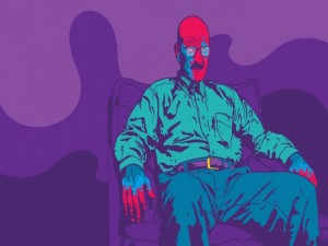 Dibujo de Walter (personaje de la serie Breaking Bad)