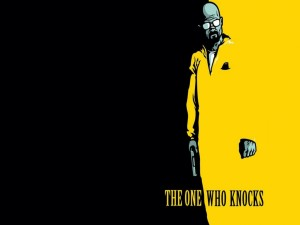 "Postal: Walter White "" The one who knocks"" (quien llama a la puerta)"