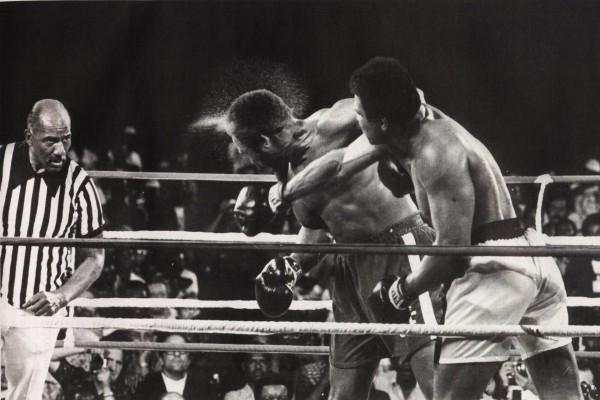 """Combate de boxeo con """"Muhammad Ali"""""""