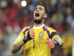Romero, portero de la Selección Argentina (Mundial 2014)