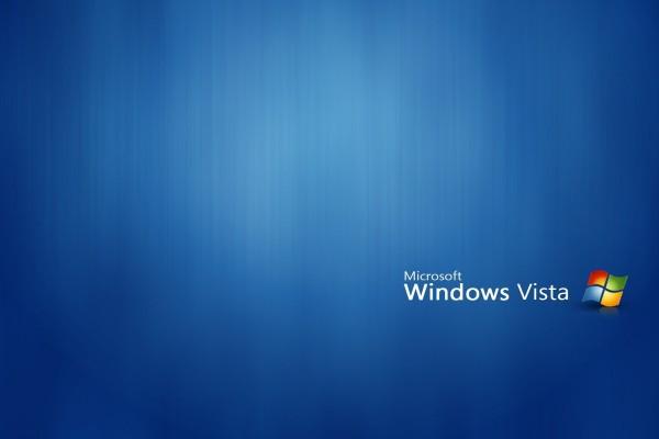 "Fondo azul ""Microsoft Windows Vista"""