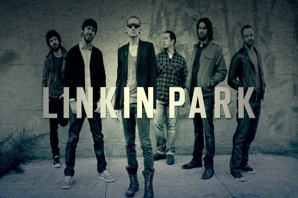 """Los seis integrantes del grupo """"Linkin Park"""""""