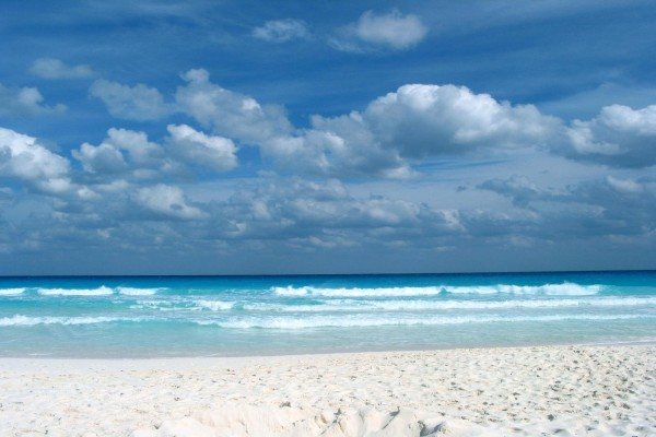 Una bonita playa de fina arena