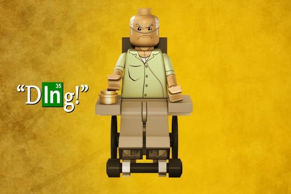 """Lego de Héctor Salamanca """"Breaking Bad"""""""