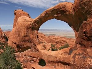 Gran arco de roca