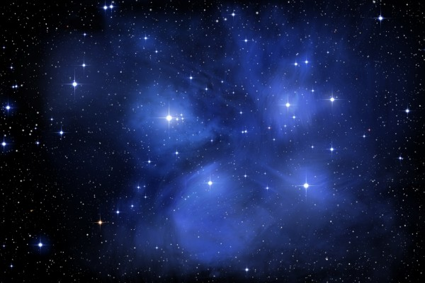 Nebulosa en el espacio