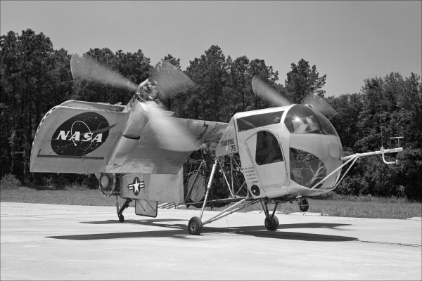 Avión experimental  Vertol VZ-2