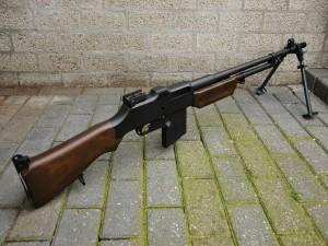 Postal: Fusil Browning M1918