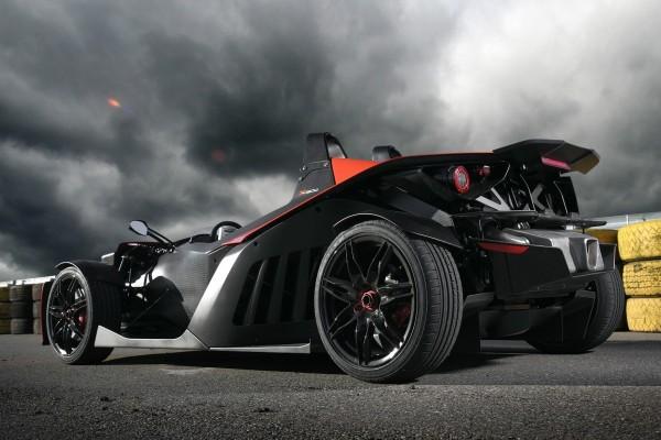 Un deportivo KTM X-Bow