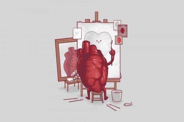Un corazón pintor