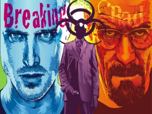 "Postal: Un cartel de la serie ""Breaking Bad"""