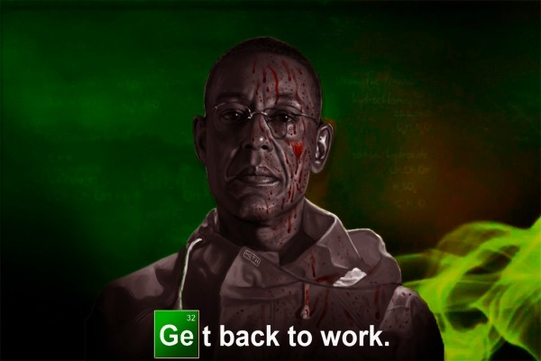 "Gus ""Volver al trabajo (Get back to work)"" Breaking Bad"