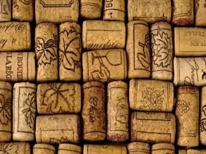 Postal: Corchos de vino
